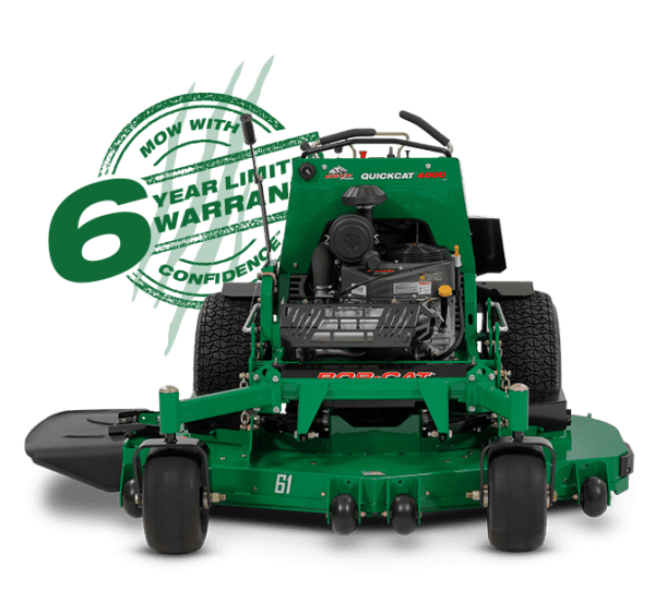 most reliable and toughest stand-on mower QuickCat-4000 for sale in perth
