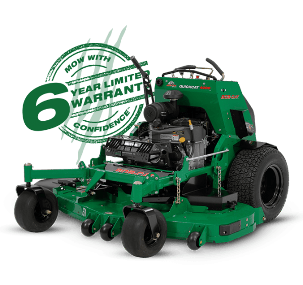 mower with Extra-large drive tires for a smoother ride and better traction QuickCat-4000 for sale in perth