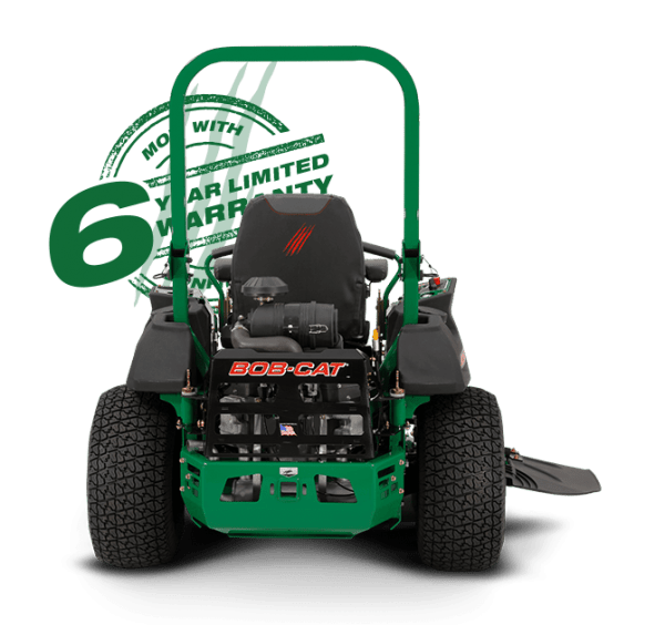 Ride on mower pro-grade power, speed and fuel capacity BobCat PredatorPro 7000