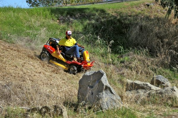 Commercial garden equipment ride-on-mower supplier of CM1401H in Perth
