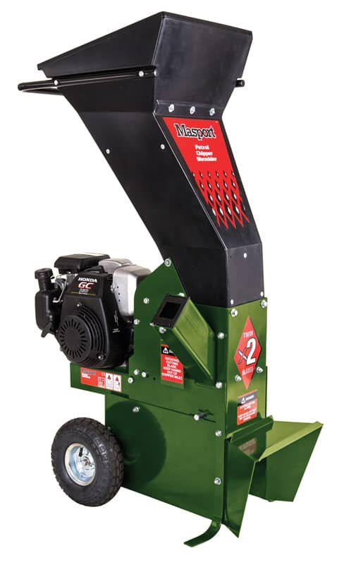 Chippers & Stump Grinder Masport President Chipper Shredder – Honda GC160 seller in Perth