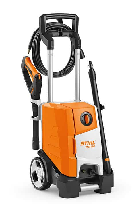 Electric High Pressure Cleaner RE 120 Lawnmowing Equipment