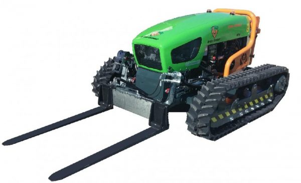 slope mower